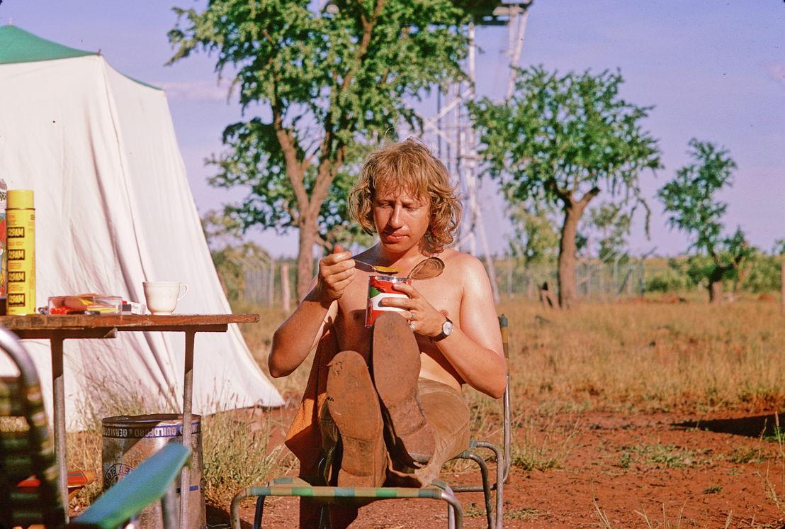 Filmmaker John Goldschmidt  adjusts to outback life