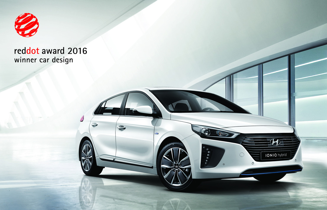 Hyundai IONIQ remporte le prestigieux Red Dot Award 2016