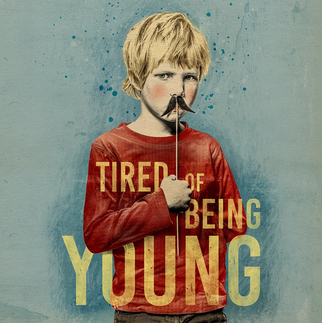 Maarten Westra Hoekzema brengt succesvoorstelling 'Tired of being young'
