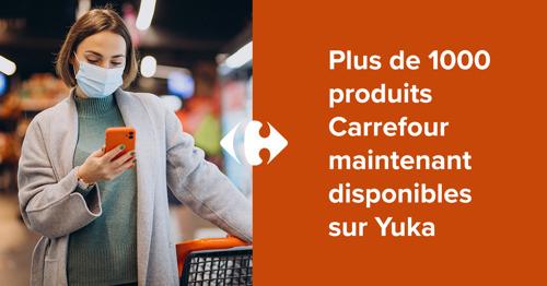 Plus de 1000 produits Carrefour maintenant disponibles sur Yuka