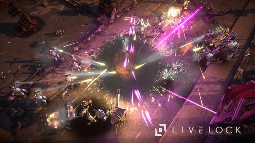 Livelock - геймплей видео от ведущего дизайнера игры.