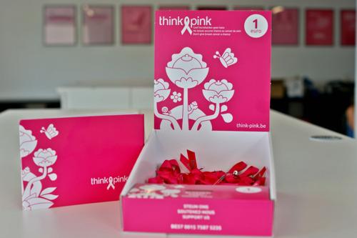 300 000 rubans de Think Pink déjà distribués