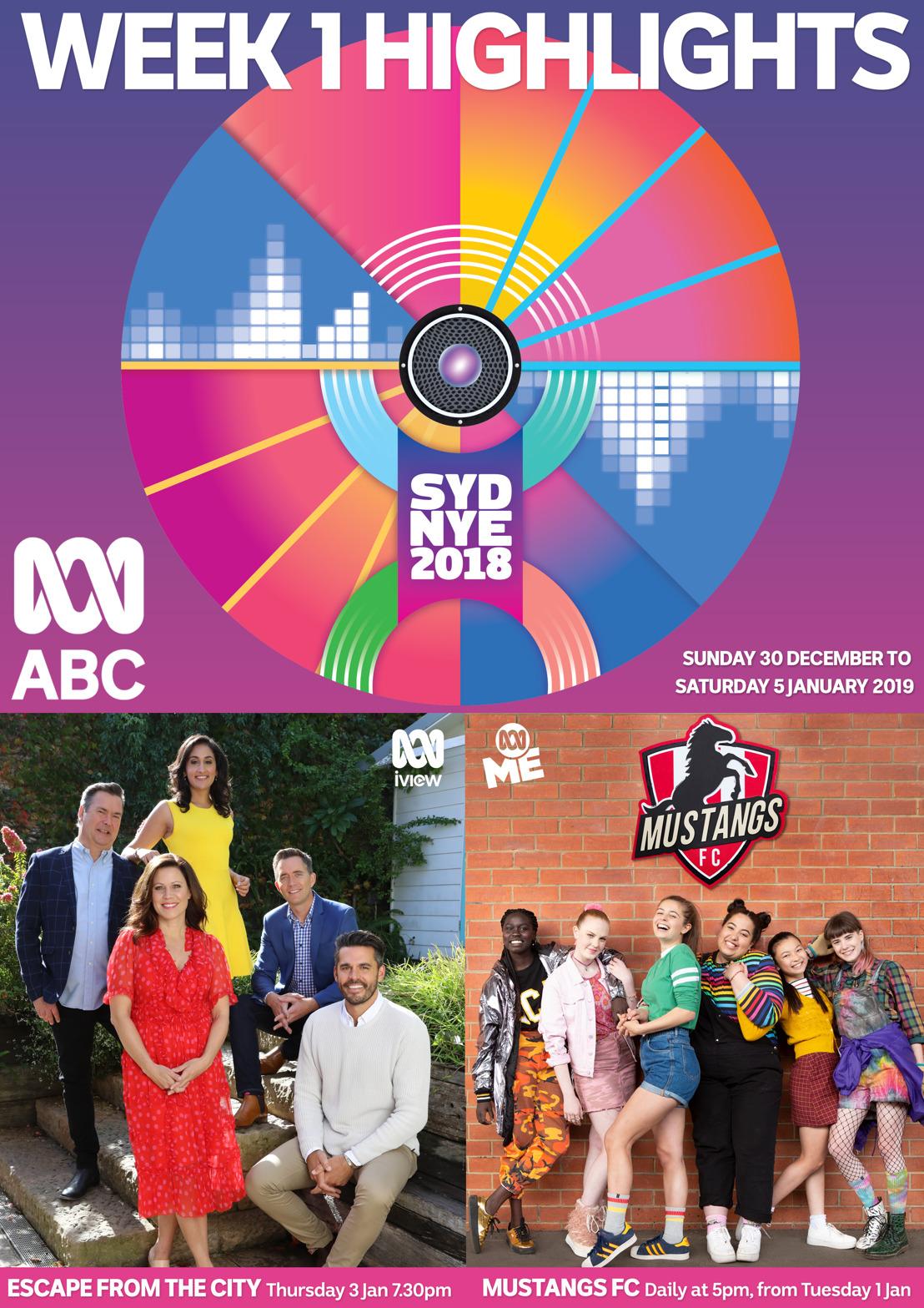 ABC TV Program Highlights - Week 1