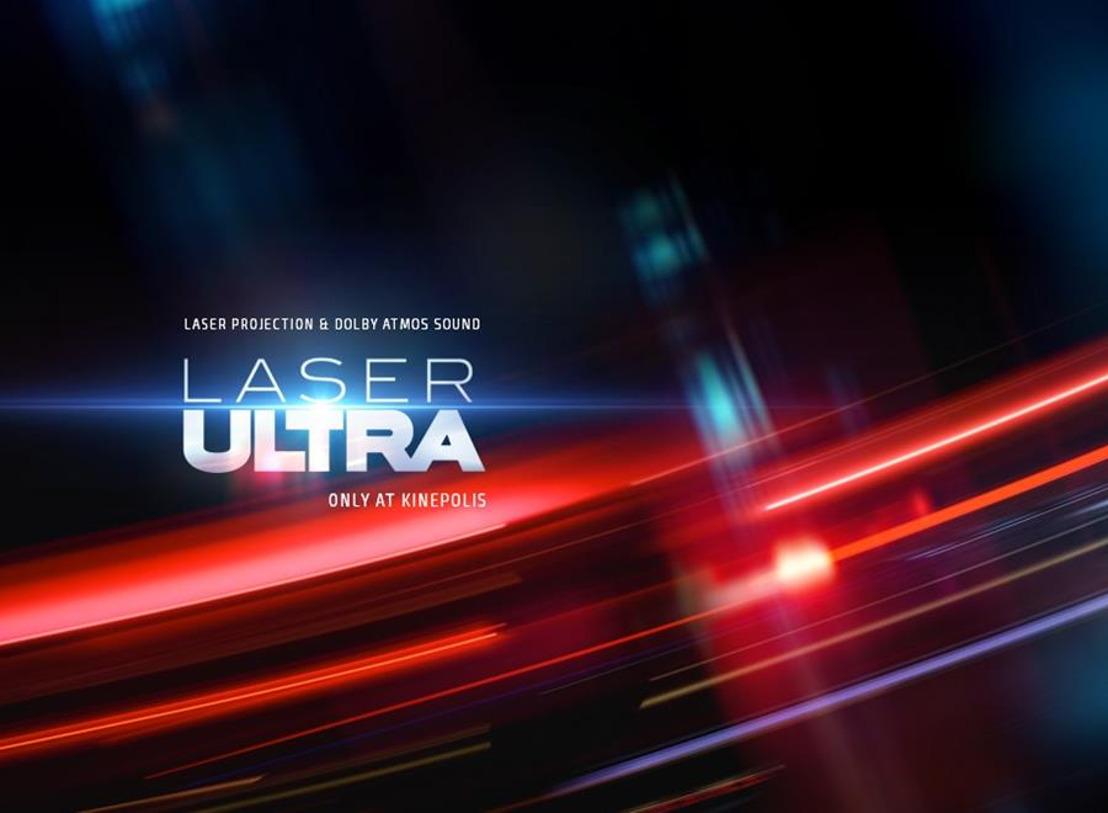 Kinepolis Braine accueille la première salle Laser ULTRA de Wallonie
