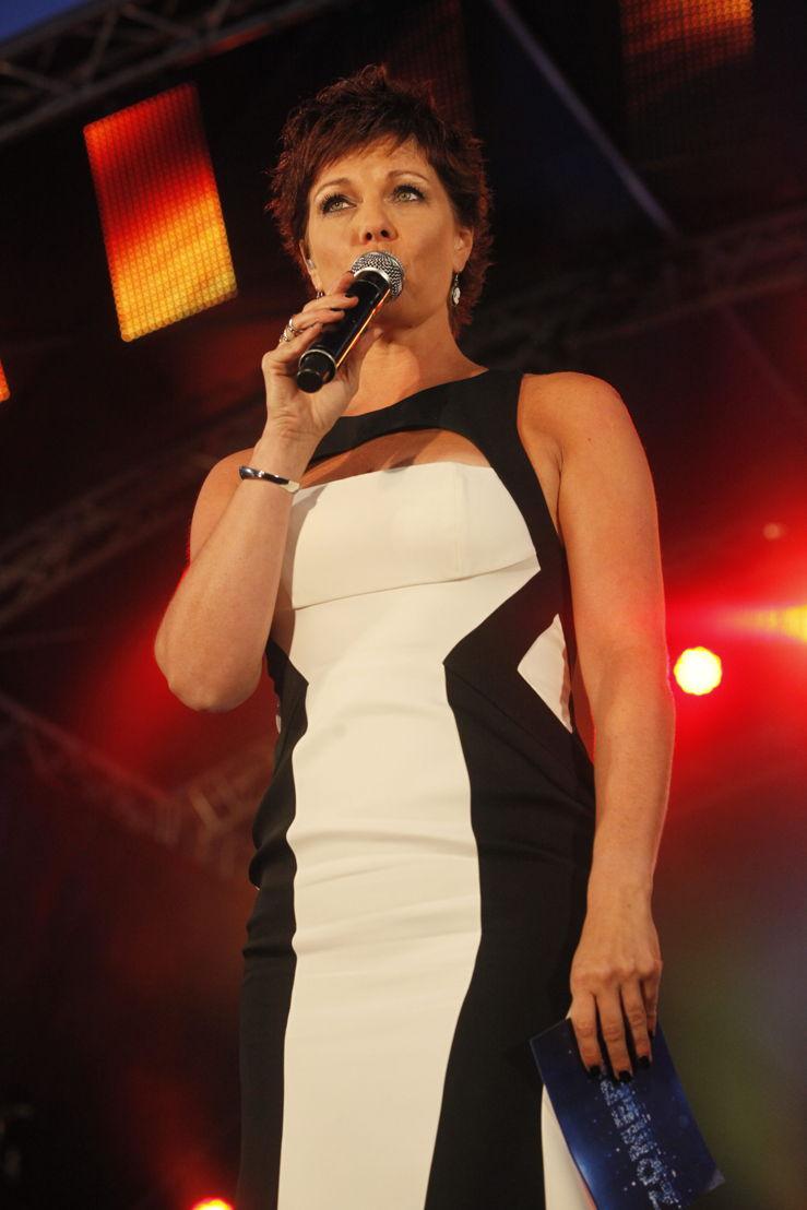 Geena Lisa op Radio 2 Zomerhit 2014 (c) VRT/BMUSS