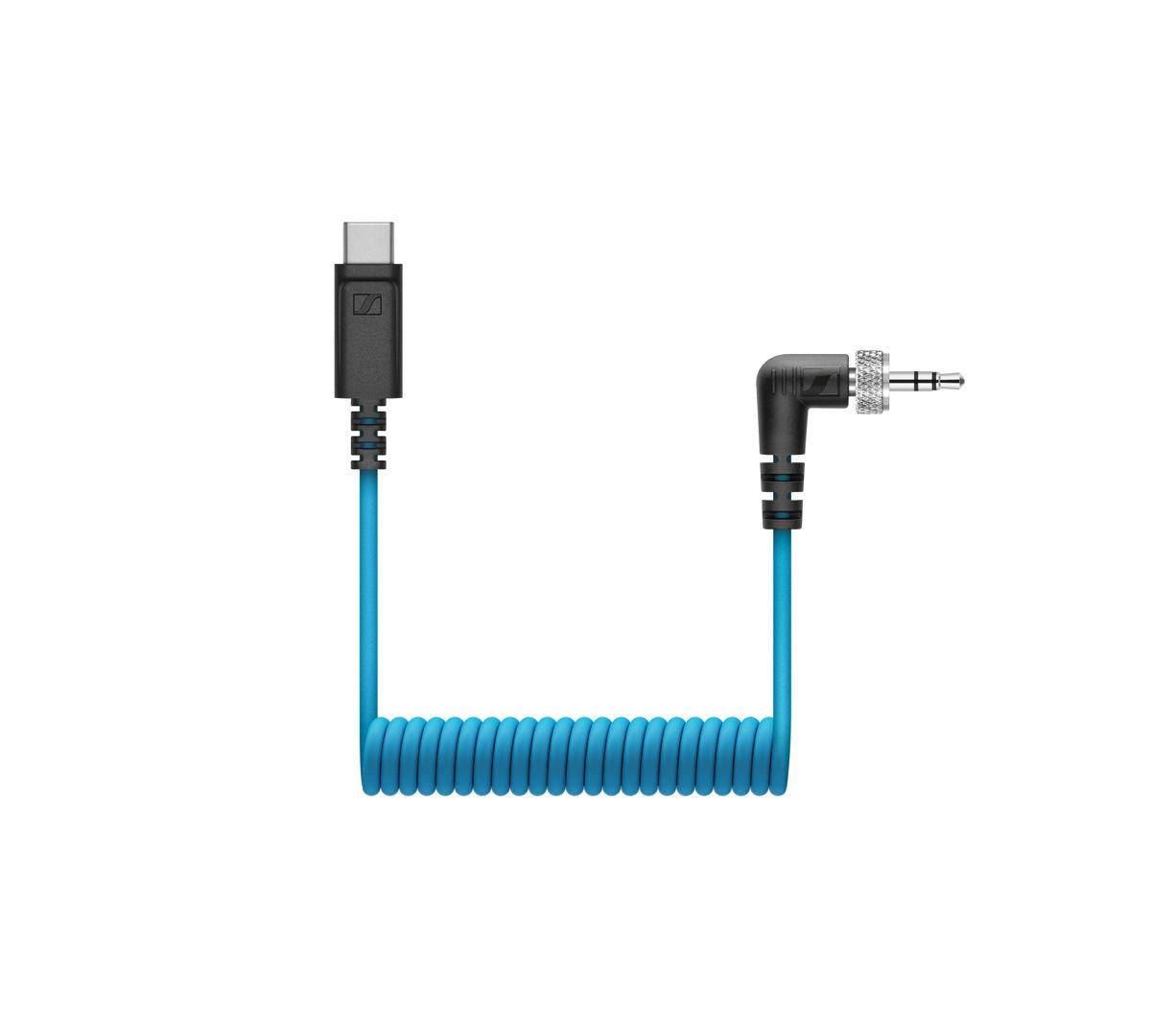 Dankzijde CL 35 USB-C-kabelis je MKE 200, MKE 400 of XSW-D Portable Lav Mobile Kithelemaalklaarom optenemenmeteenmobielapparaatmet USB-C-aansluiting