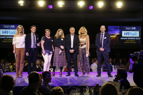 HR Rail wint Corporate HR Award