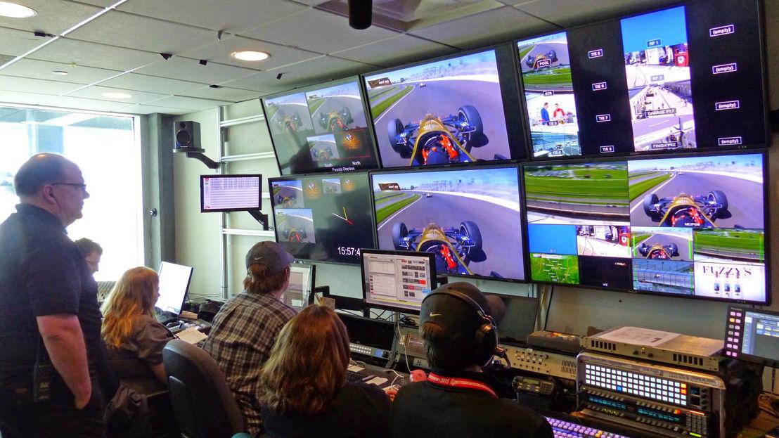 Pantallas LED y Digital Media Center en Indiannapolis Motor Speedway