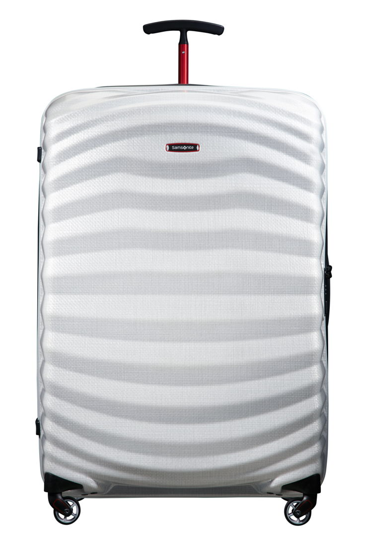Samsonite_Lite-Shock Sport_Spinner 81-Off White/Red