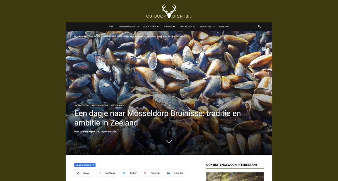 Outdoordichtbij.nl op bezoek in Bruinisse