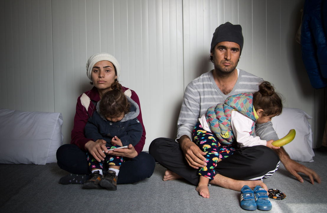 "Portrait of Karon, 31 Years old from Iraq<br/><br/>Karon, his wife and their two twins are blocked in Lesvos since their arrival on August 2nd 2016.<br/><br/>Their dream was to reach the Island to start a new life.<br/><br/>""What I have seen in Iraq, I do not want my children to see it again. This is why we left our country, where everything is paralyzed, everything stopped, there is no life…My true dream is that my children will live in a beautiful country, without war, without bloodshed, without any of this. This is the only thing I wish for."""