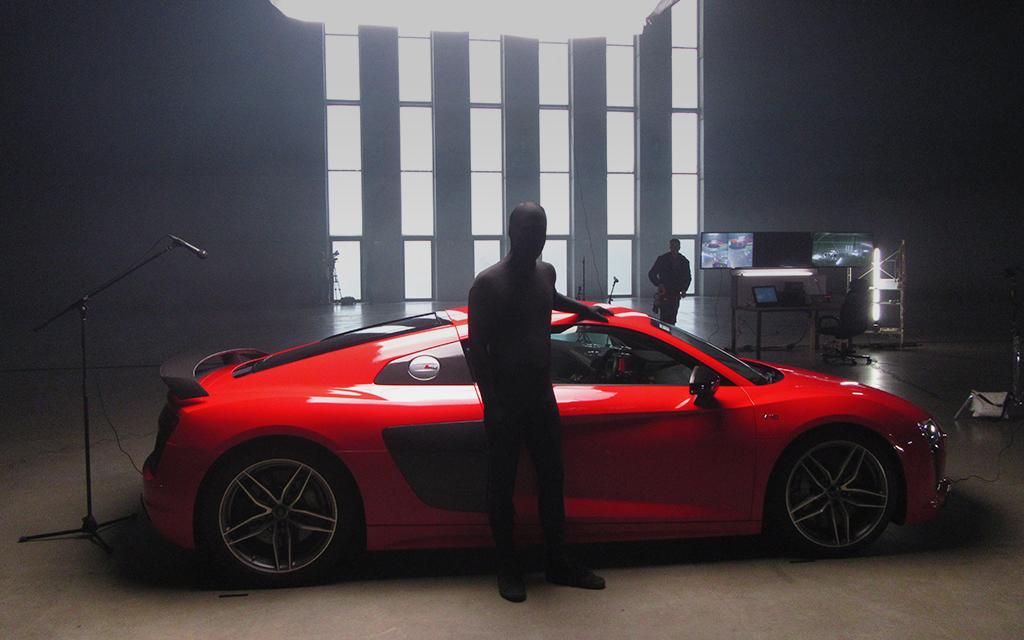 Meet the Audi Stig.