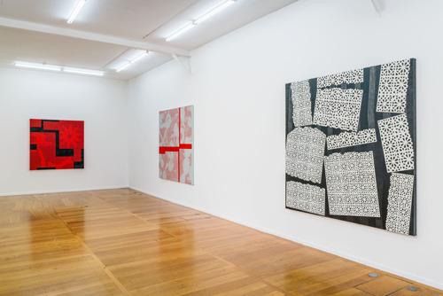 Galerie Xippas à Paris présente une exposition solo de l'artiste belge Yves Zurstrassen