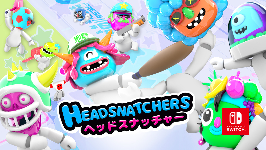 Party game Headsnatchers heading to Nintendo Switch