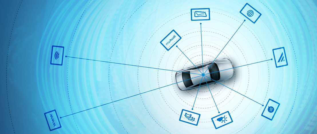 Proximus en Audi maken van de auto een mobiele hotspot