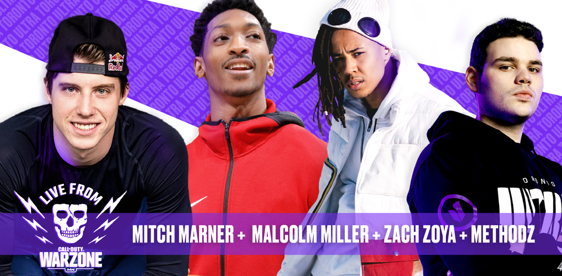 MAPLE LEAFS, RAPTORS AND UNIVERSAL MUSIC STARS TEAM UP FOR CALL OF DUTY COMPETITION