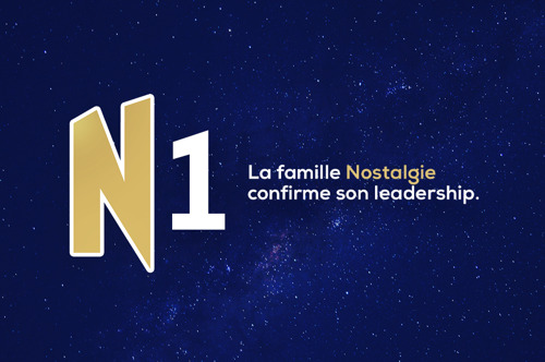 La famille Nostalgie reste leader en Belgique francophone