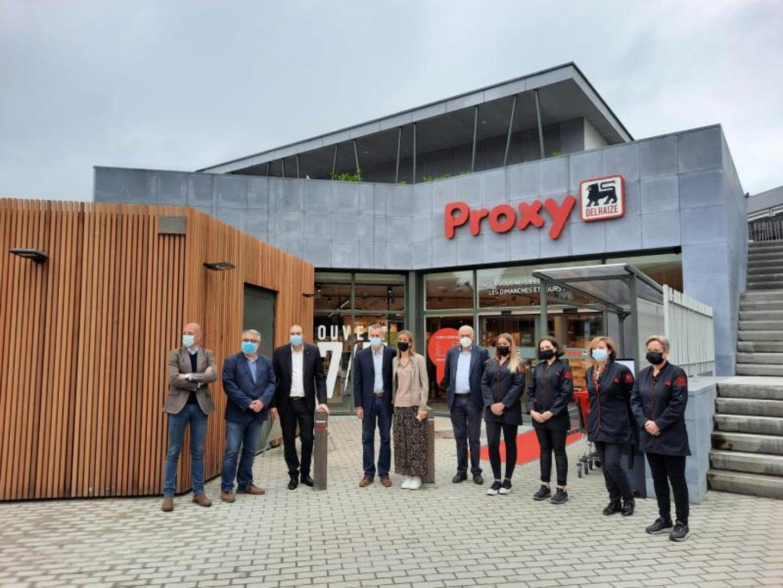 Le nouveau Proxy Delhaize Huy ouvre ses portes aujourd'hui