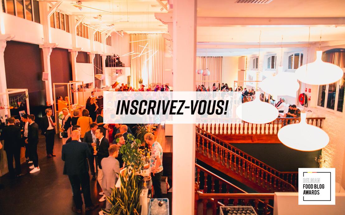 Vous inscrire pour les Belgian Food Blog Awards, c'est encore possible!
