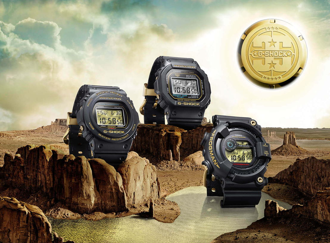 G-SHOCK ORIGIN GOLD  COLLECTION
