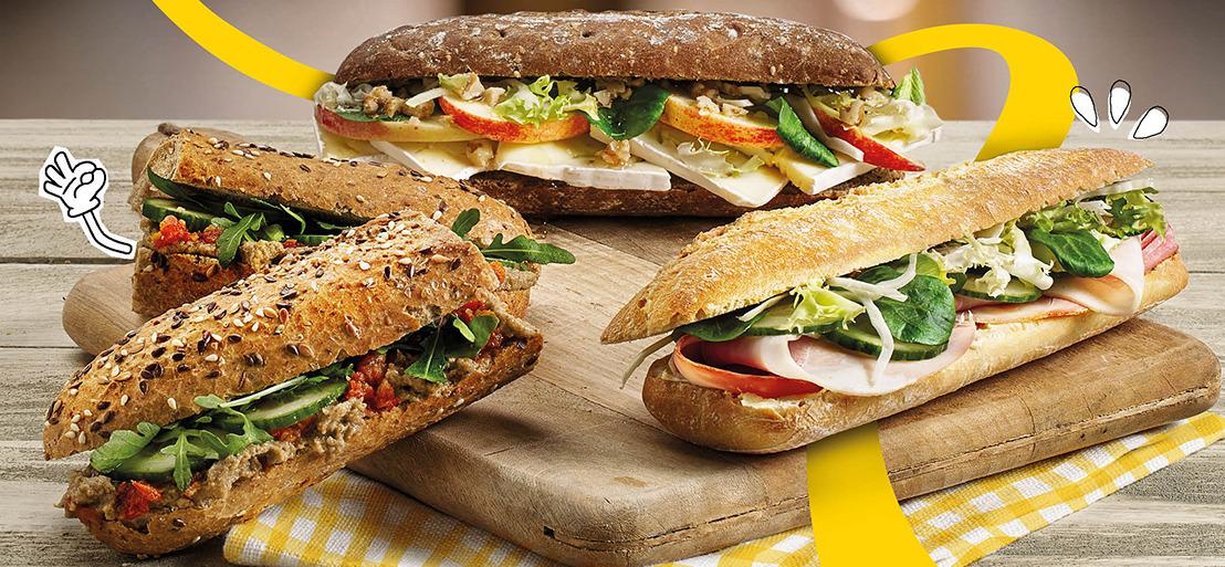 Panos pakt uit met zijn nieuwe 'Krak in Broodjes'-campagne: nieuwe recepten, nieuwe rustieke broodvarianten en extra aandacht voor duurzaamheid