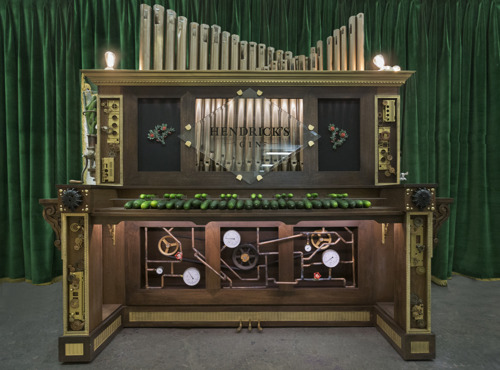 CUCUMBERS FOR KEYS: HENDRICK'S GIN BREAKS ANOTHER GLOBAL RECORD AS FIRST EVER JAZZ CUCUMBER ORGAN UNVEILS AT THE FESTIVAL INTERNATIONAL DE JAZZ DE MONTREAL
