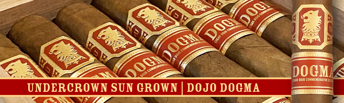 "Drew Estate Launches Undercrown Dojo Dogma in ""Sun Grown"" and ""Maduro"" Wrappers"