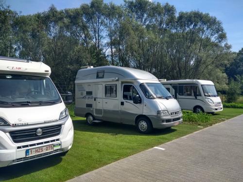 Nieuw kampeerwagenterrein in Leuven opent poorten