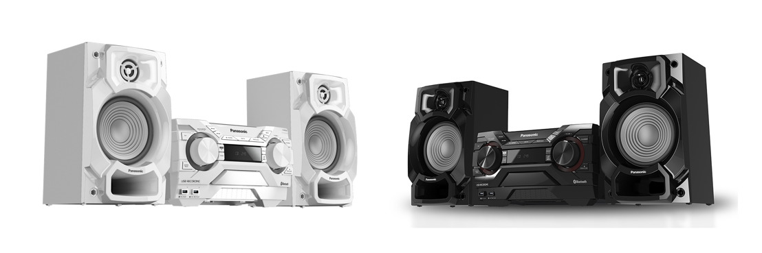 De blanco este verano con el Minicomponente Panasonic SC-AKX220