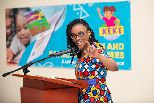 "Grenadian Author Launches ""Keke The Caribbean Kid"" Book Series"