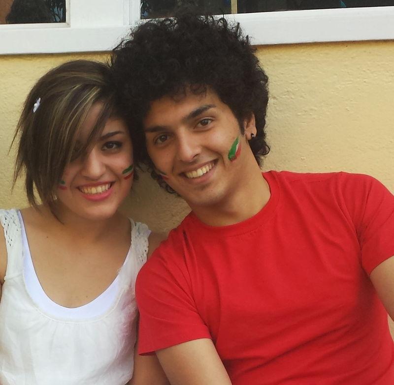 Mojgan and Milad