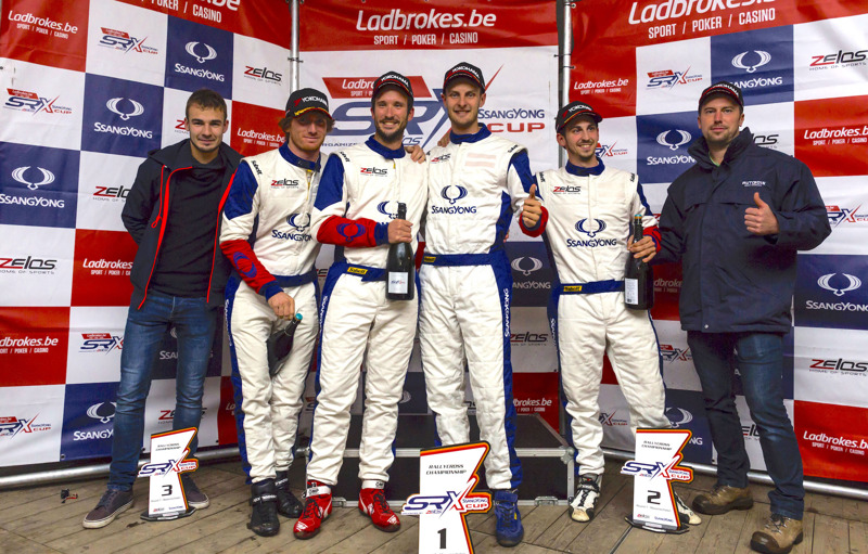 Podium Round #7 Ladbrokes SRX Cup