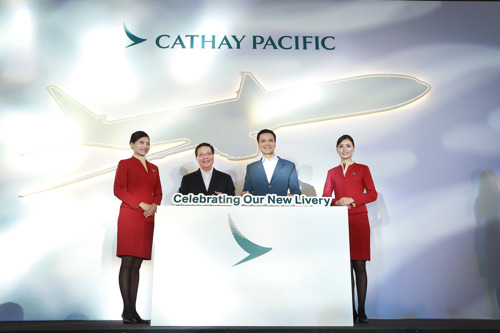New era begins for Cathay Pacific as airline unveils changes to aircraft livery