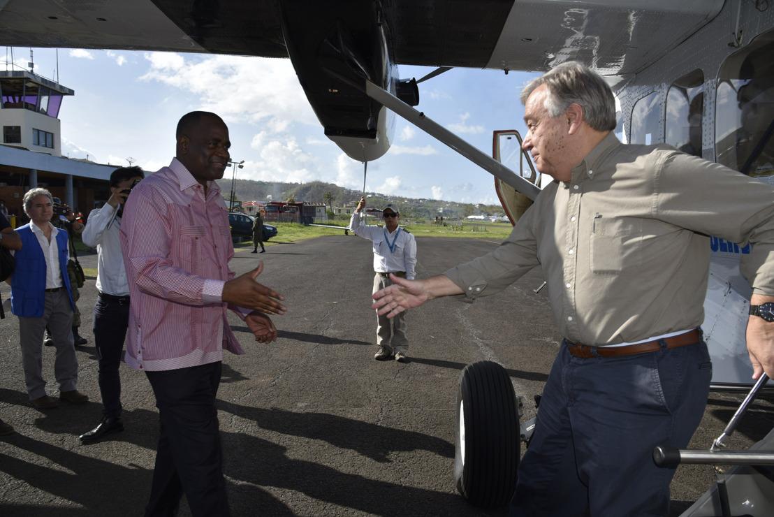 UN Secretary General Visits Dominica