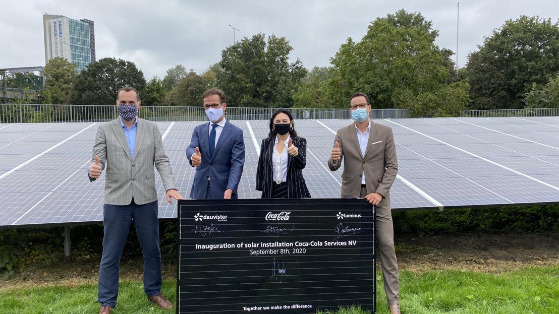 Meer dan 4 000 zonnepanelen bij Coca-Cola Anderlecht en plannen voor eerste windturbineproject in het Brussels Hoofdstedelijk Gewest