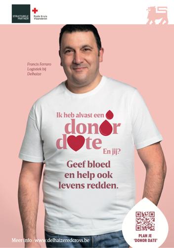 Delhaize en TBWA hebben voor Valentijn een 'date' met het Rode Kruis