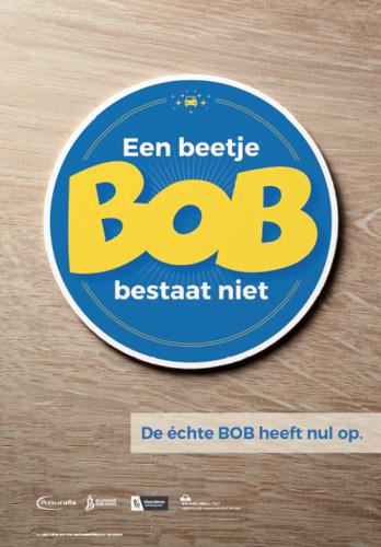De verzekeraars feliciteren alle bestuurders die echt BOB zijn