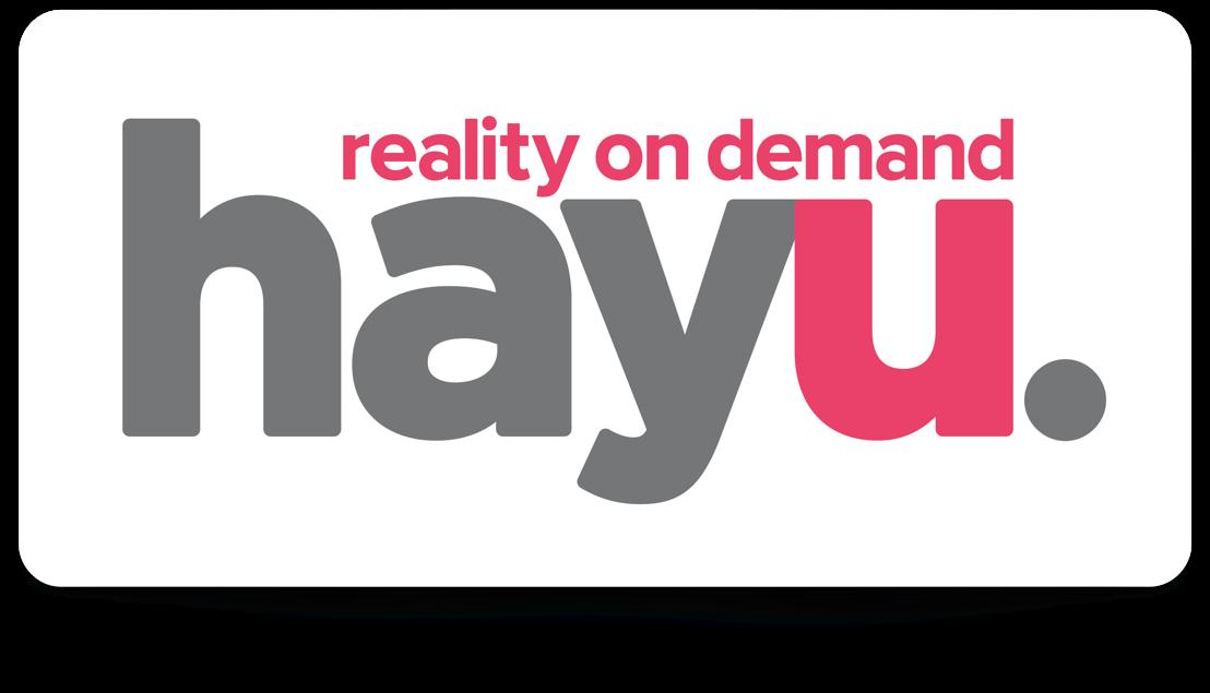 hayu, de nieuwe video-on-demand dienst, nu ook in België. Amerikaanse realityseries, altijd en overal te zien.