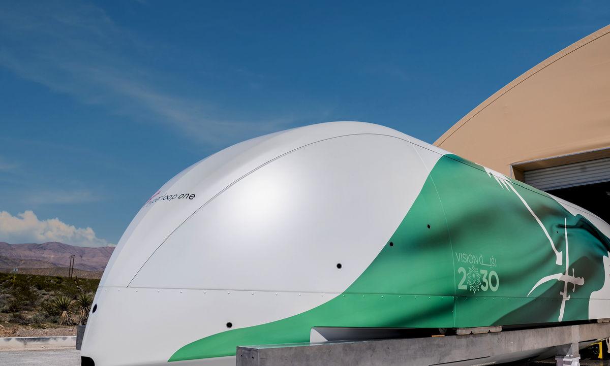 Hyperloop Pod - Vision 2030