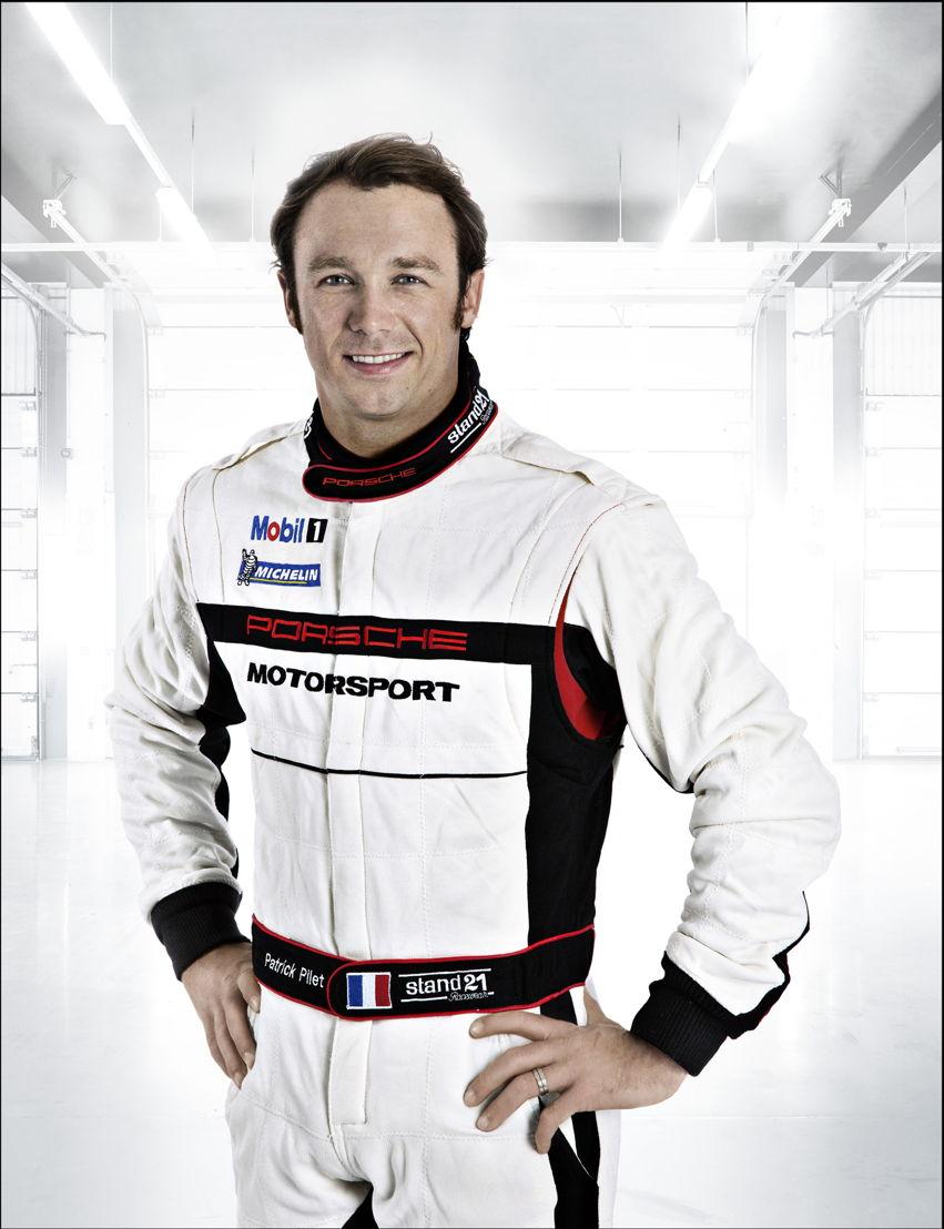 Porsche-Werksfahrer Patrick Pilet (F)