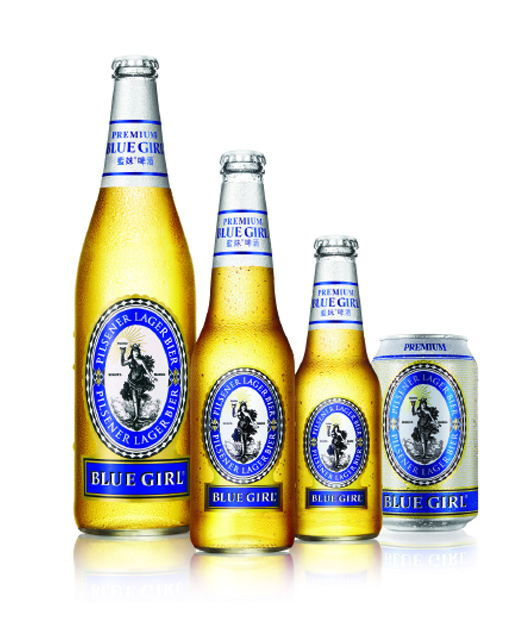 The new joint venture is expected to extend Blue Girl Beer's popularity in Mainland China.