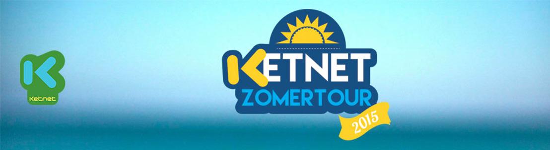 Ketnet komt naar je toe met de Ketnet Zomertour!