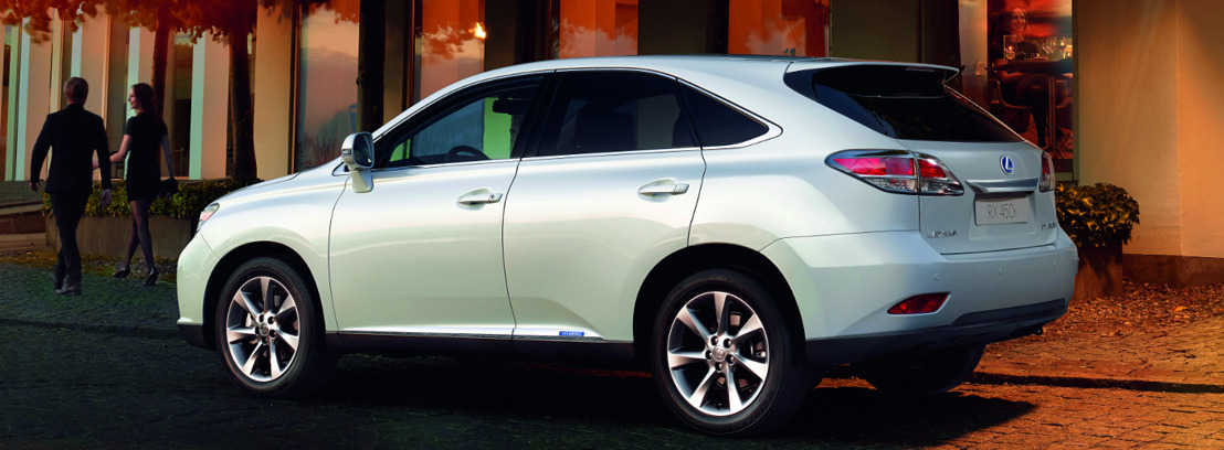 Beperkte reeks Lexus RX 450h Style Edition