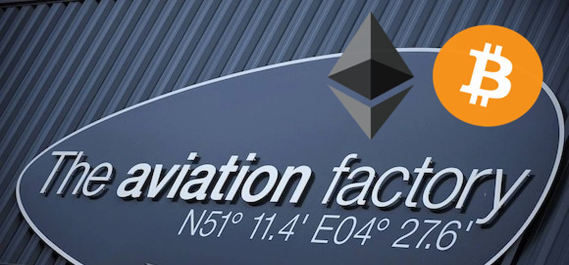 The Aviation Factory: eerste grote private jet-broker in Europa die betalingen in cryptovaluta aanvaardt