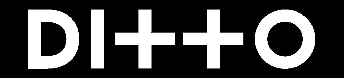 Ditto Logo White