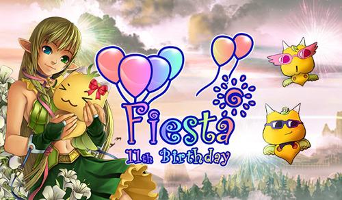 Fiesta Online feiert seinen 11. Geburtstag mit einem epischen Cupcake War!