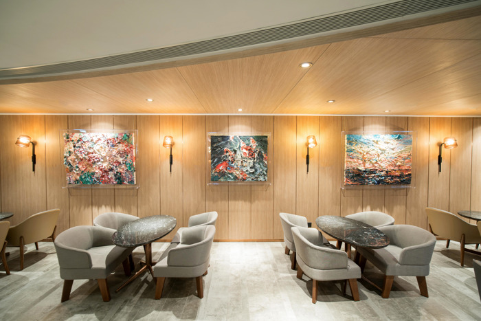 Plaza Premium First Hong Kong curates the world's first independent airport lounge art exhibition in partnership with Beijing Poly Art