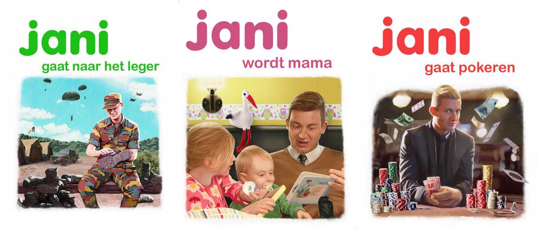Uitnodiging Persconferentie: Jani gaat... (Woensdag 23/03)