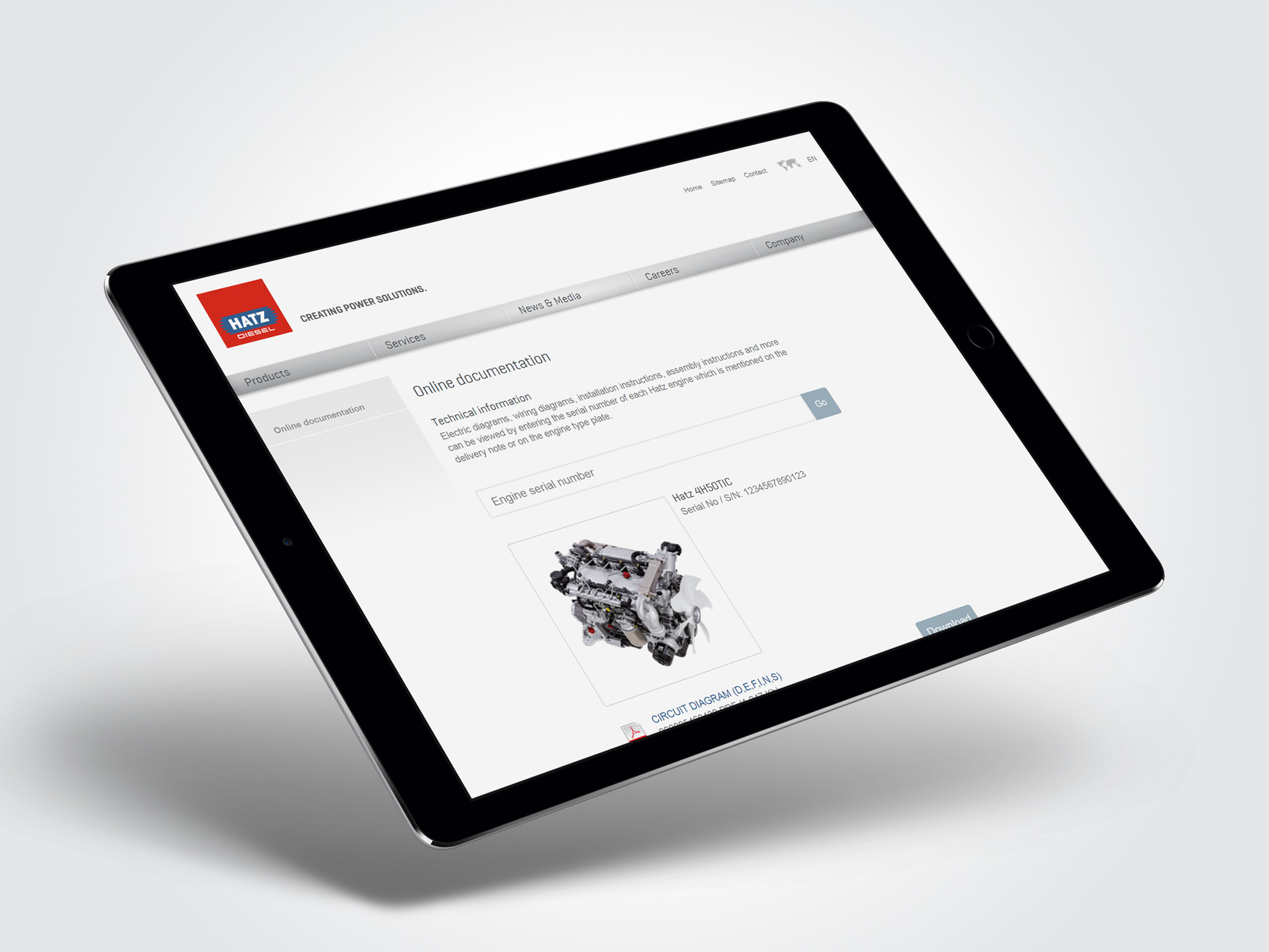 Hatz Launches An Intuitive Portal For Online Documentation Engine Wiring Diagram