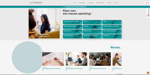 CVO Groeipunt lanceert nieuwe website